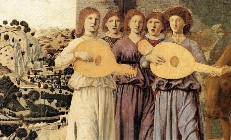 Piero della Francesca - Nativité (détail)